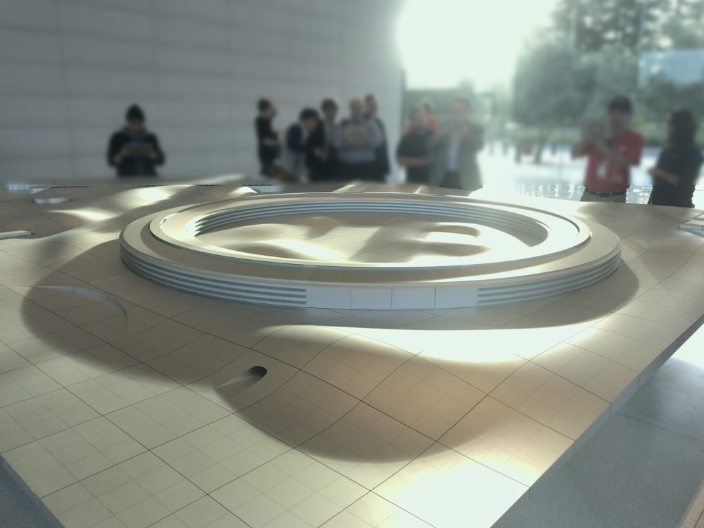 Apple Park Visitor Center AR