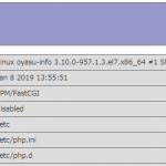 PHP 7.3 に更新しました。