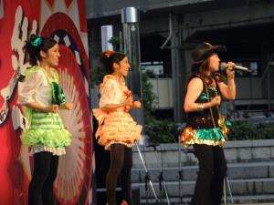 [H23.08.07]鳥取しゃんしゃん祭ゲストライブMIQさん