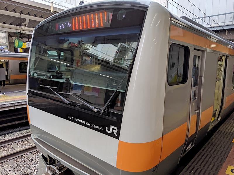 欅共和国2019 立川駅 臨時快速