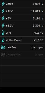 AI Suite Ⅱ 通常電圧