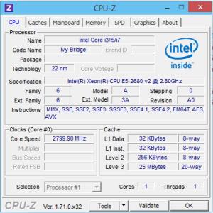 [H26.10.25]CPU-Z on IDCF