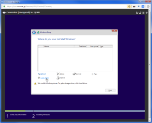 [H26.11.05]Installing Windows 10 TP on ConoHa