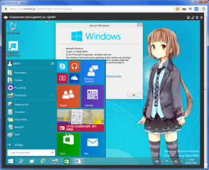 [H26.11.05]Windows 10 TP on ConoHa
