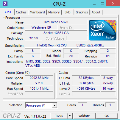 [H26.11.12]CPU-Z on ConoHa