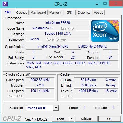 [H26.11.12]CPU-Z on ConoHa