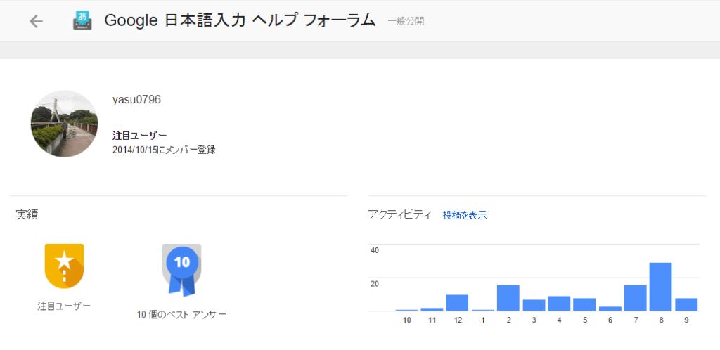 [H27.09.05] Google IME Forum RS