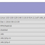 WordPress 4.7、CentOS 7.3、PHP 7.1 に更新しました。