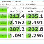 メーカーも容量も回転数も異なる HDD で RAID0 ベンチ取ってみた