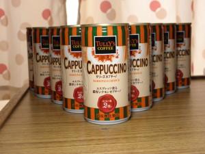 TULLY'S COFFEE バリスタズチョイス カプチーノ
