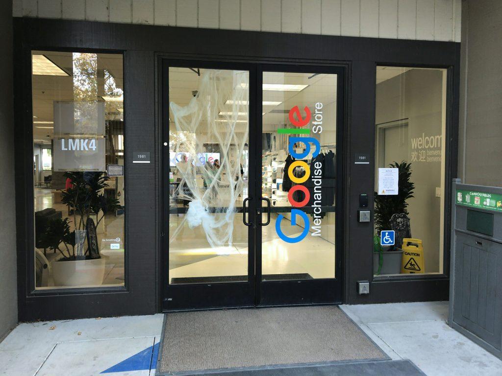 マウンテンビュー Google Merchandise Store
