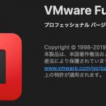 macOS Catalina (10.15.3) 上の VMware Fusion 11.5.1 でマウスが操作できない問題