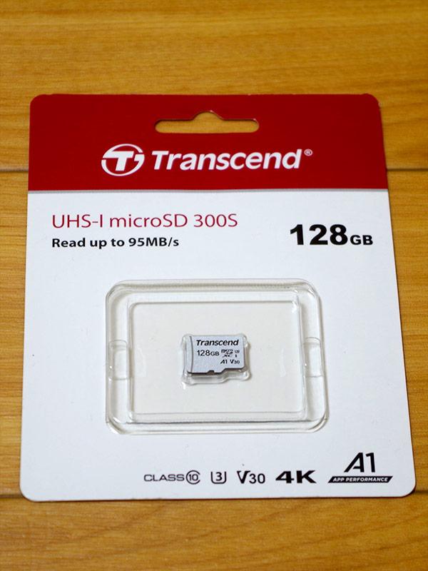 Trancend microSDXC TS128GUSD300S