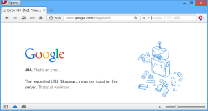 [H26.08.14]Googleブログ検索404エラー